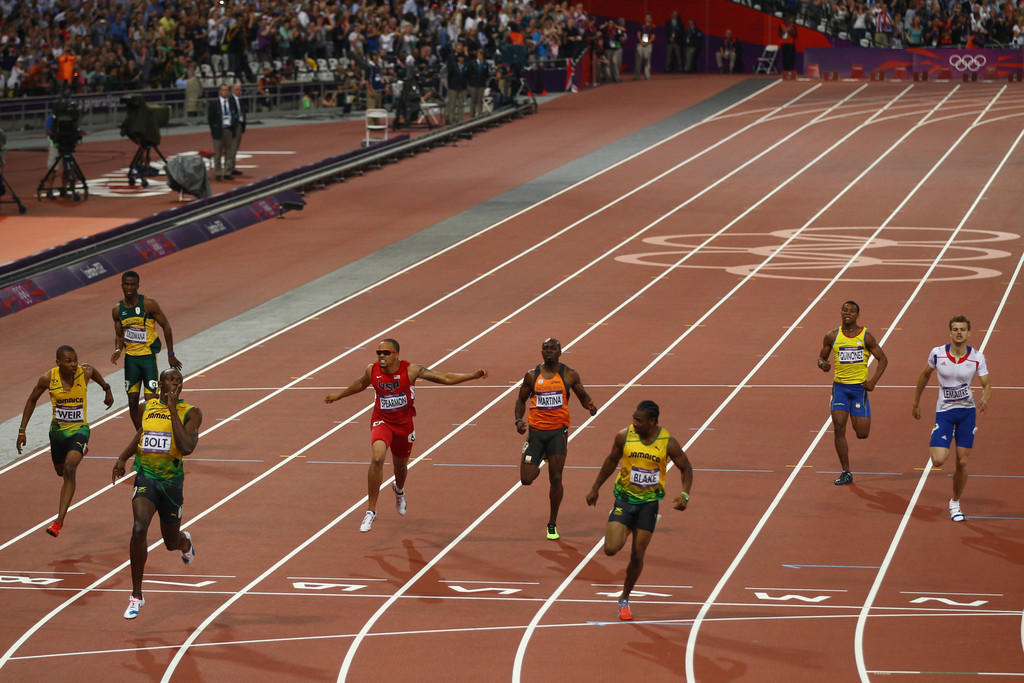 Yohan Blake born 26 December 1989 is a Jamaican sprinter of the 100metre and 200metre sprint races He won gold at the 100 m at the 2011 World Championships as the youngest 100 m world champion ever and a silver medal in the 2012 Olympic Games in London in the 100 m and 200 m races for the Jamaican team