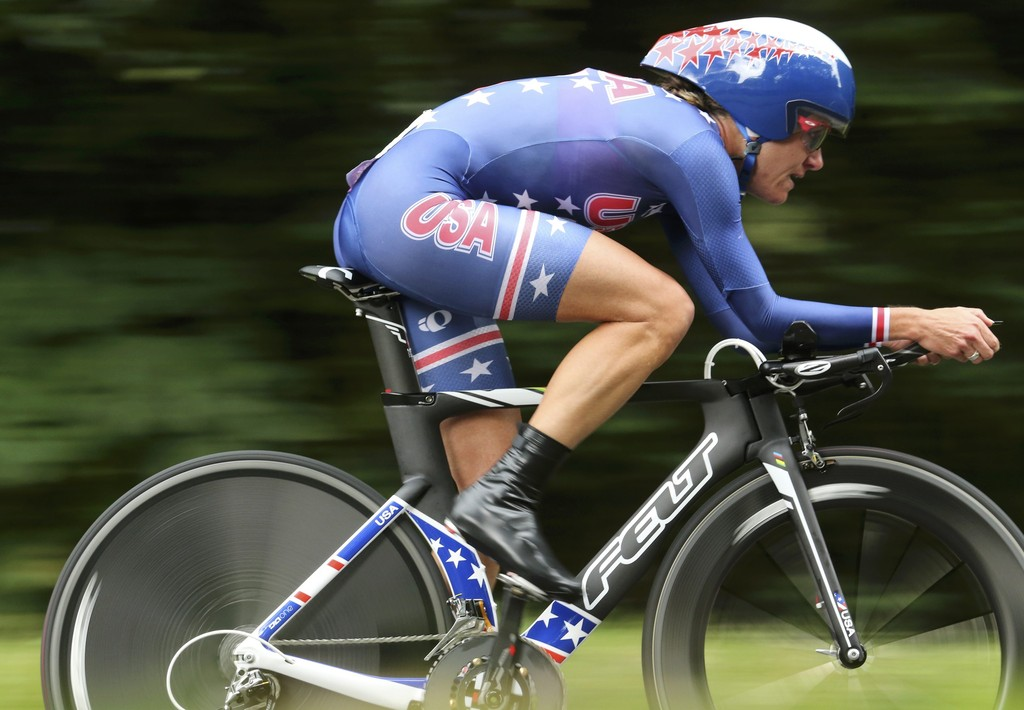 Kristin Armstrong in Olympics Day 5 - Cycling - Road