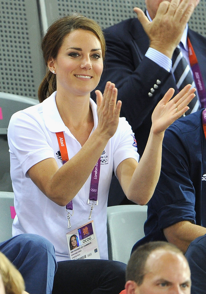 Kate Middleton Photos Photos - Olympics - Day 6 - Royals ...