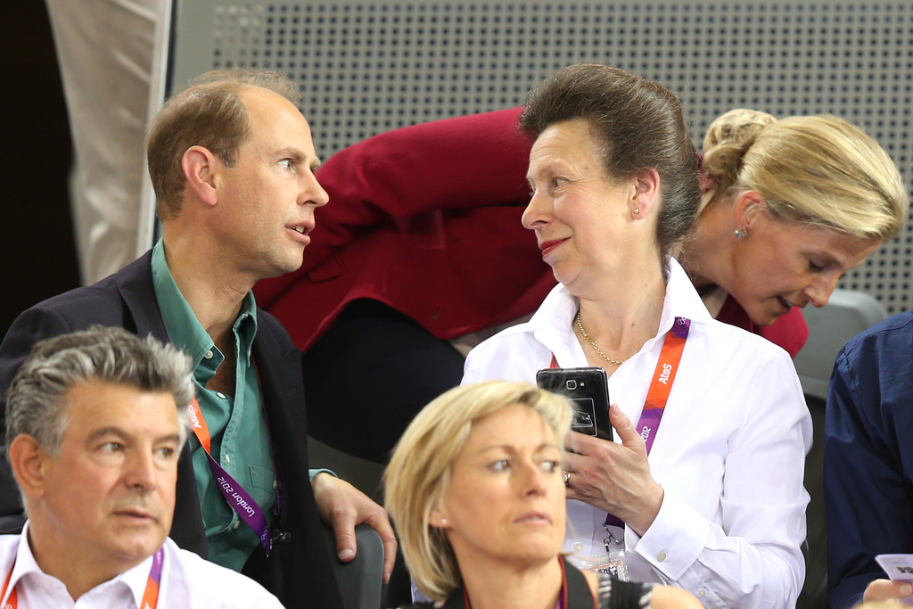 prince edward photos photos olympics day 6 royals at