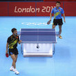 Wang Hao and t Zhang Jike Photos
