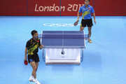 Wang Hao and t Zhang Jike Photos Photo