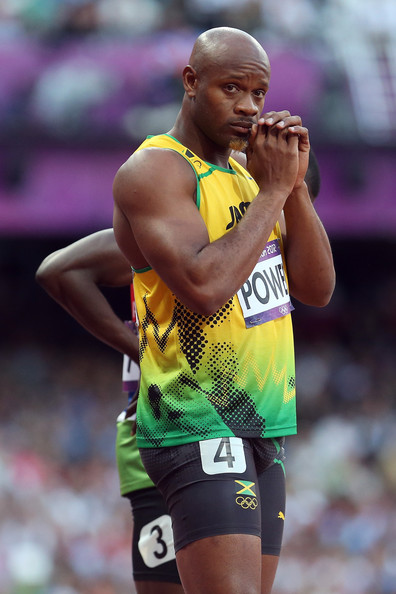 Asafa Powell in Olympics Day 9 - Athletics 8 of 54 - Zimbio