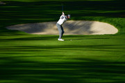 Ross Fisher of England plays a shot during the third round of The Omega European Masters at Crans-sur-Sierre Golf Club on September 8, 2018 in Crans-Montana, Switzerland.