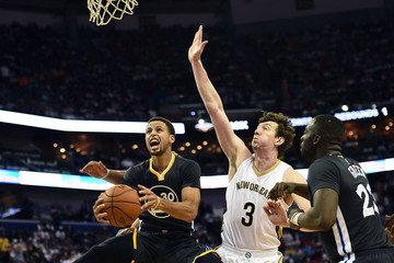 Omer Asik Golden State Warriors v New Orleans Pelicans