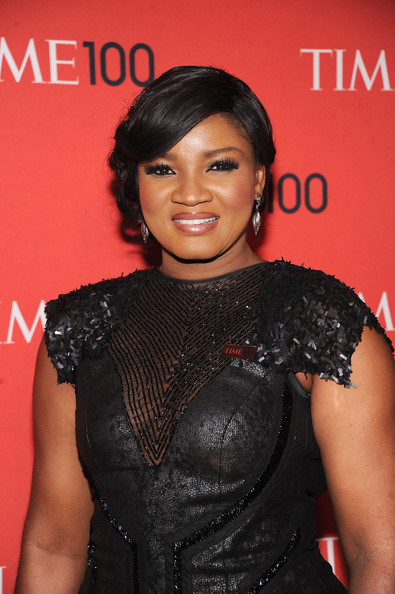 Omotola Jalade Ekeinde Actress Omotola Jalade Ekeinde attends the 2013 Time 100 Gala at Frederick P. Rose Hall, Jazz at Lincoln Center on April 23, 2013 in New York City.