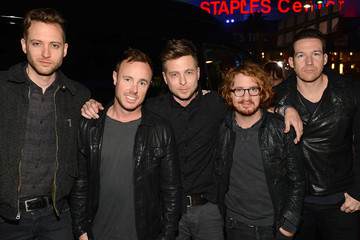 OneRepublic Arrivals at the People's Choice Awards — Part 2