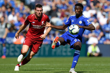 Onyinye Wilfred Ndidi Leicester City vs. Liverpool FC - Premier League