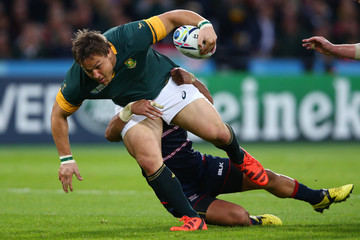 Oosthuizen South Africa v USA - Group B: Rugby World Cup 2015