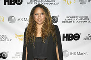 "Tracie Thoms attends Opening Act's 13th Annual Benefit Play Reading ""In Our Own Words"" at New World Stages on April 02, 2019 in New York City."