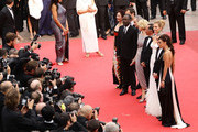 The Jury of the Cannes Film Festival attend the Opening Ceremony at the Palais des Festivals during the 64th Cannes Film Festival on May 11, 2011 in Cannes, France.