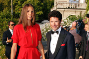 Veronica  Sgaravatti and Matteo Marzotto attends the Opening Ceremony and Baaria Red Carpet at the Sala Grande during the 66th Venice Film Festival on September 2, 2009 in Venice, Italy.