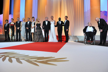Jude Law Nansun Shi Opening Ceremony Inside - 64th Annual Cannes Film Festival
