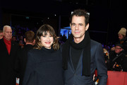 Tom Tykwer and his girlfriend Marie Steinbach attend the Opening Ceremony & 'Isle of Dogs' premiere during the 68th Berlinale International Film Festival Berlin at Berlinale Palace on February 15, 2018 in Berlin, Germany.