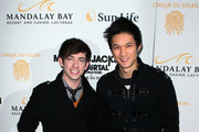 Harry Shum Jr. and Kevin McHale Photos Photo