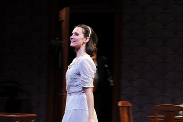 """Keira Keeley Opening Of """"The Glass Menagerie"""" - Arrivals And Curtain Call"""