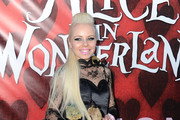 "Singer Kerli arrives at the opening night of FIDM exhibit for Walt Disney Studios ""Alice In Wonderland"" at LA's Fashion Institute of Design and Merchandising on May 26, 2010 in Los Angeles, California."