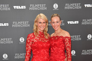 Natascha Gruen and Christine Theiss attend the opening night of the Munich Film Festival 2019 at Mathaeser Filmpalast on June 27, 2019 in Munich, Germany.