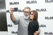 Rapper Frankie hi-nrg mc and director Maria Sole Tognazzi attend the opening night of The Museum of Modern Art and Luce Cinecitta's Ugo Tognazzi: Tragedies of a Ridiculous Man Retrospective at MoMA on December 5, 2018 in New York City.