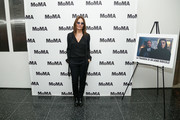 Director Maria Sole Tognazzi attends the opening night of The Museum of Modern Art and Luce Cinecitta's Ugo Tognazzi: Tragedies of a Ridiculous Man Retrospective at MoMA on December 5, 2018 in New York City.