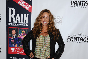"""tawny kitaen Opening Night Of """"Rain - A Tribute To The Beatles"""" At The Pantages Theatre - Red Carpet"""
