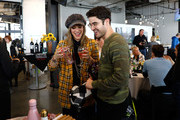 Mia Swier and Darren Criss attend the Operation Smile 8th Annual Park City Ski Challenge presented by Poly, St Regis Deer Valley & Deer Valley Resort at The St. Regis Deer Valley on March 23, 2019 in Park City, Utah.