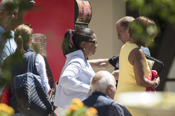 Oprah Winfrey Annual Allan And Co. Investors Meeting Draws CEO's And Business Leaders To Sun Valley, Idaho
