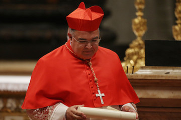 Orani Joao Tempesta Pope Francis Appoints 19 New Cardinals at St. Peter's Basilica