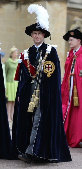 The Order of the Garter Service in Windsor - 1 of 7
