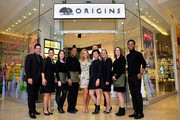 Vanessa Ray unveils Origins new discovery store concept at Origins SouthPark on December 4, 2015 in Charlotte, North Carolina.