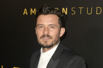 Orlando Bloom Amazon Studios Golden Globes After Party - Arrivals