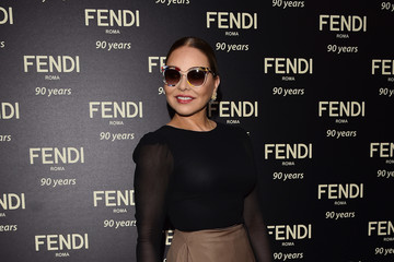 Ornella Muti Fendi Roma 90 Years Anniversary - Welcome Cocktail
