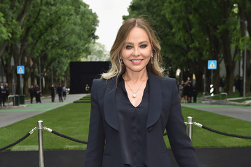 Ornella Muti Giorgio Armani 40th Anniversary - Silos Opening And Cocktail Reception - Arrivals