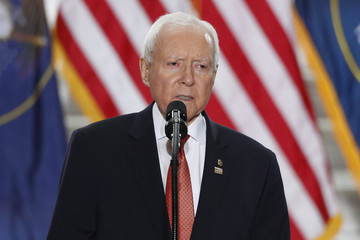 Orrin G. Hatch President Trump Delivers Remarks at Utah State Capitol in Salt Lake City