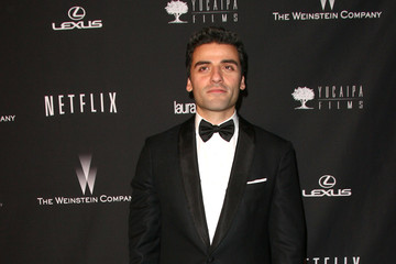 Oscar Isaac Arrivals at the Weinstein's Golden Globes Afterparty