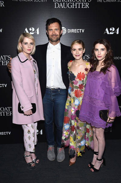 A24 and DirecTV With the Cinema Society Host a Screening of 'The Blackcoat's Daughter' - Arrivals