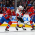 P.K. Subban Max Pacioretty Photos - Kyle Turris #7 of the Ottawa Senators tries to skate in-between Max Pacioretty #67 and P.K. Subban #76 of the Montreal Canadiens during the NHL game at the Bell Centre on December 12, 2015 in Montreal, Quebec, Canada. - Ottawa Senators v Montreal Canadiens