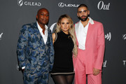 Orlando Reece, JoJo and Philip Picardi attend Out Magazine's Out100 Event presented by Lexus on November 21, 2019 in Long Island City, New York.