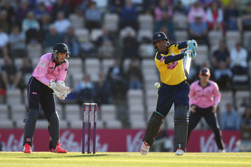 Owais Shah Hampshire v Middlesex - NatWest T20 Blast