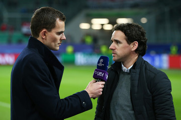 Owen Hargreaves VfL Wolfsburg v Manchester United FC - UEFA Champions League