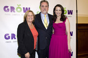 (L-R) Ileana Ros-Lehtinen, Raymond C. OffenHeiser and Kristin Davis pose for a photo during the Oxfam Sisters on the Planet Summit awards ceremony & reception at the Rayburn House Office Building on March 7, 2012 in Washington, DC.