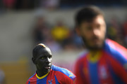 Crystal Palace player Mamadou Sakho in action during a Pre-Season Friendly match between Oxford United and Crystal Palce at Kassam Stadium on July 21, 2018 in Oxford, England.