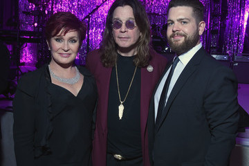 Ozzy Osbourne Inside the Elton John AIDS Foundation Oscars Viewing Party — Part 2