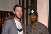 Actors Pablo Schreiber (L) and Billy Brown attend PEOPLE's Ones To Watch Event on September 16, 2015 in West Hollywood, California.