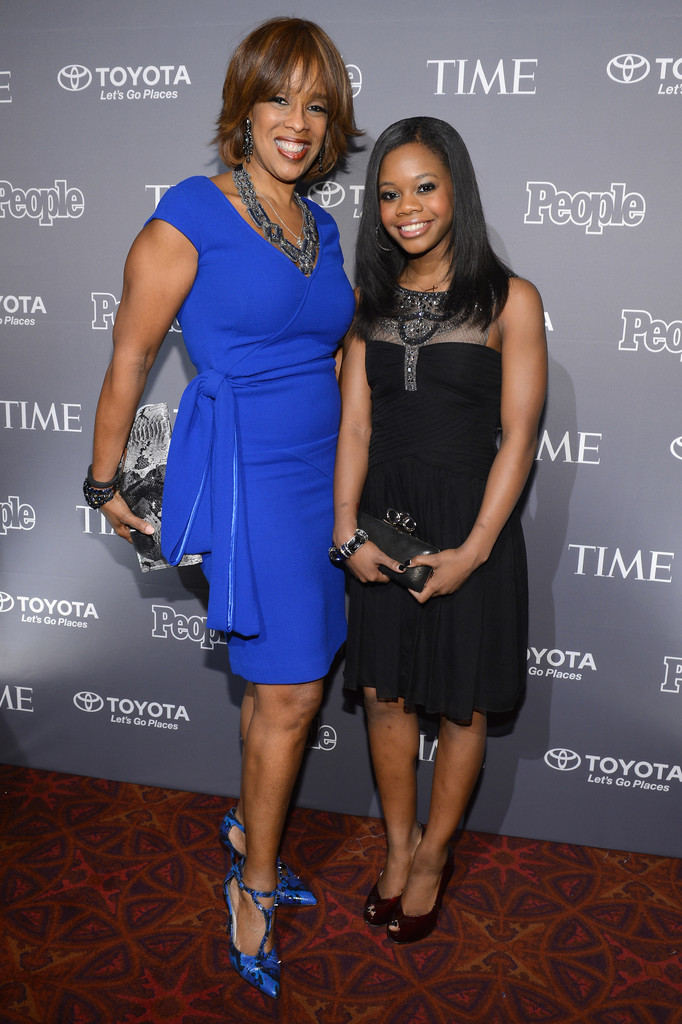 gabrielle douglas photos preparation for the people time party in