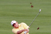James Mason of United States plays a shot during day three of the PGA Champions Tour - Posco E&C Songdo Championship at Jack Nicklaus Golf Club on September 12, 2010 in Incheon, South Korea.