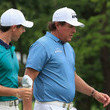 Phil Mickelson and Rory McIlroy Photos