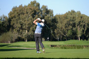 Colm Moriarty of Drive Golf Performance Limited plays his first shot  on the 8th tee during the fourth round of the PGA Play-Offs at Antalya Golf Club - PGA Sultan Course on November 30, 2015 in Antalya, Turkey.