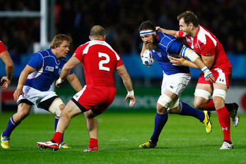 PJ van Lill Namibia v Georgia - Group C: Rugby World Cup 2015