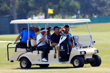 Tiger Woods Mark O'Meara THE PLAYERS Championship - Preview Day 2